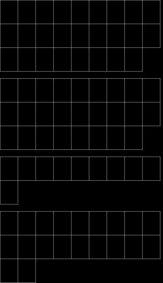 mapa de caracteres